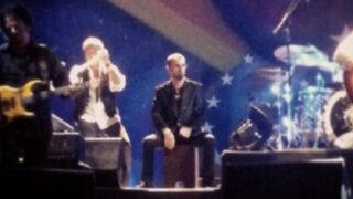 Ringo Starr sorprendió tocando cajón peruano en su concierto en Lima