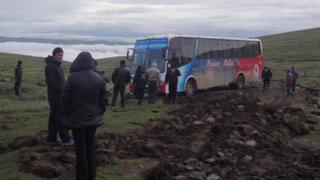 Huancavelica: delincuentes asesinan a dos policías en atraco a ómnibus