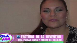 La 'Diosa hermosa del amor' Dina Páucar se confiesa en una entretenida entrevista