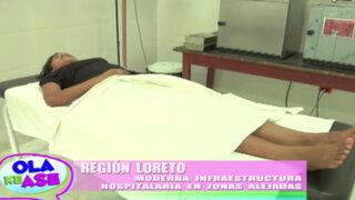 Región Loreto fortalece infraestructura de hospitales ubicadas en zonas alejadas