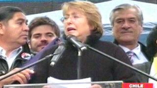 Elecciones en Chile se tiñen de sangre, muere escolta de Michelle Bachelet