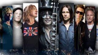 """Cancelan concierto de Slash y King of Chaos en Lima por """"temas logísticos"""""""