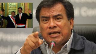 Velásquez: Empresa de ministro Paredes prestó dinero a Ollanta Humala