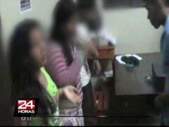 Iquitos: intervienen a cuatro escolares bebiendo licor en plena vía pública