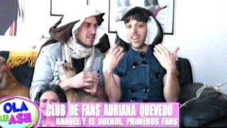 Nahuel López realizó un divertido video por el cumpleaños de Adriana Quevedo