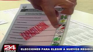 Conozca todos los detalles de las próximas Elecciones Municipales de Lima