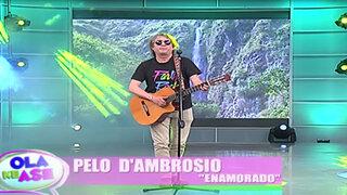 Pelo D' Ambrosio nos presenta en exclusiva su nuevo sencillo 'Enamorado'