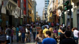 INEI: Lima supera los ocho millones y medio de habitantes