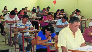 Denuncian problemas en examen del concurso de directores del Minedu