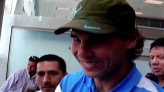 Bloque Deportivo: el gran Rafael Nadal llegó a Lima para jugar con David Ferrer