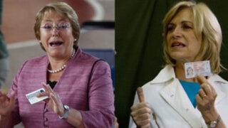 Elecciones presidenciales en Chile: Bachelet y Matthei emitieron su voto