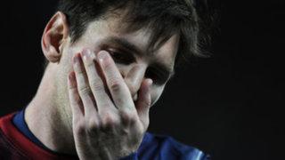 Lionel Messi y la tristeza que lo aqueja por estar lejos del balón