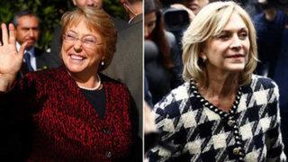 Michelle Bachelet logró 46% de los votos y disputará con Evelyn Matthei
