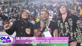 'La Capitana': Lo que no se vio de la gran inauguración de los Juegos Bolivarianos