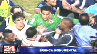 Escupitajos entre jugadores generaron 'bronca' en el Inti Gas - Universitario