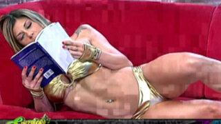 Sopa de letras: 'Chicas Doradas' nos enseñan la pose ideal para leer un buen libro