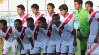 Selección nacional Sub 15 derrotó por 2-1 a Paraguay en debut del Sudamericano