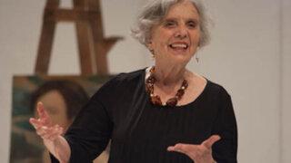 Escritora Elena Poniatowska Amor obtiene el Premio Cervantes 2013