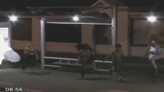 VIDEO: Chucky anda suelto y aterroriza en paradero de autobús de Brasil