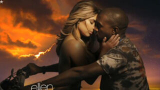 VIDEO: Kim Kardashian se luce en topless en nuevo videoclip de Kanye West
