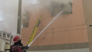 Reportan incendio en hotel que alberga deportistas de los Juegos Bolivarianos 2013