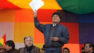 Evo Morales decreta doble aguinaldo a funcionarios como 'regalo navideño'