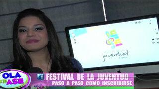 Sepa cuáles son los pasos para participar en el 'I Festival de la Juventud'