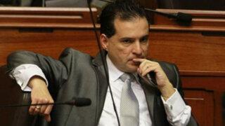 Piden que se levante inmunidad a Omar Chehade por caso Brujas de Cachiche