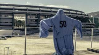 VIDEO: el 'fantasma uruguayo' del 'Maracanazo' el 50' ya está en Brasil