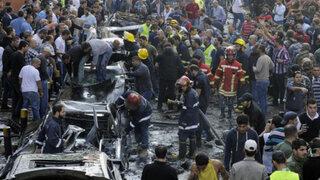 Impactantes imágenes del atentado terrorista en la embajada iraní en Líbano