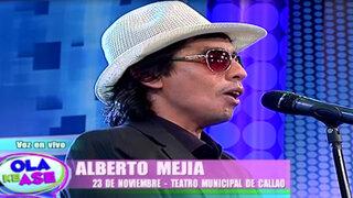 El 'Héctor Lavoe peruano' Alberto Mejía nos puso a bailar con el tema 'Mi gente'