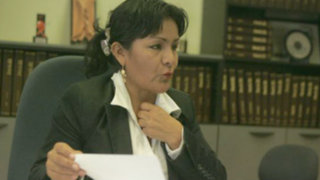 Declaran reo contumás a alcaldesa de Tocache por delitos contra el honor
