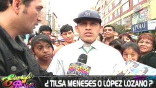 ¿Tilsa Meneses o López Lozano? política y espectáculo en la agenda de los peruanos