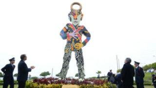 Miraflores: vecinos protestan contra polémica escultura de José Tola