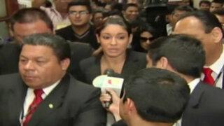 Tilsa Lozano se robó el show durante su presentación en el Congreso
