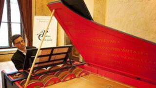Escucha un instrumento de Da Vinci que tardó 500 años en ser creado