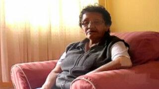 Anciana se salva de milagro luego que el techo de su casa le cayera encima