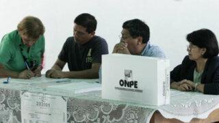 Elecciones 2014: miembros de mesa tendrán un día de descanso
