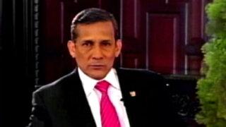 Presidente Humala: Perú cerró para siempre la delimitación de sus fronteras