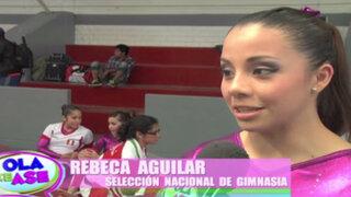 La Capitana nos presenta a las integrantes de la Selección Nacional de Gimnasia