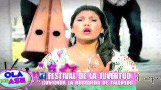 Festival de la Juventud: nuevos talentos podrán llevarse hasta $12,000
