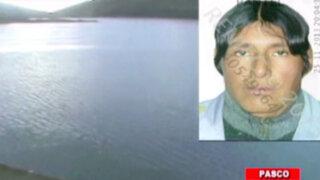 Realizan intensa búsqueda de tres personas desaparecidas en laguna de Huicra
