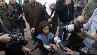 VIDEO: misil cae cerca de niños sirios cuando eran entrevistados por un reportero