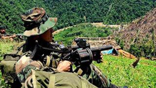 Junín: ataque terrorista a base militar Unión Mantaro dejó un soldado muerto