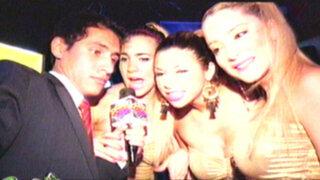 Gyofred suelto en la selva: Chicas Doradas presentan desinhibido show en Tarapoto