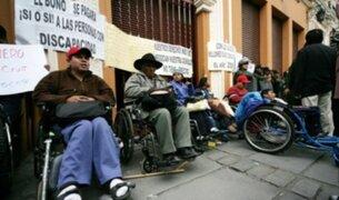 Personas con discapacidad no recibirían pensión no contributiva el próximo año