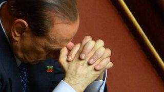 Parlamento italiano aprobó moción de expulsión contra Silvio Berlusconi