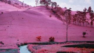 FOTOS: 'Watermelon Snow', la nieve rosa con sabor a sandía que asombra a EEUU