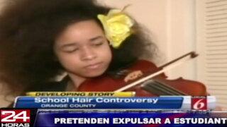 EEUU: amenazan con expulsar a estudiante afroamericana por su pelo