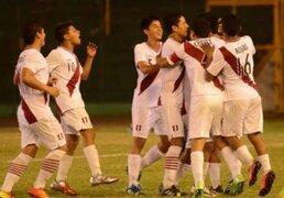 Selección peruana sub 15 batió a Chile por 2-0 y jugará la final del Sudamericano